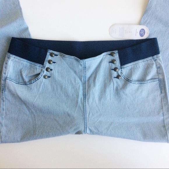 Diane Gilman Denim - DG2 Diane Gilman Sailor Blue Jeans NWTS Size 3X